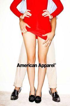 american apparel shoe advertising - Google Search