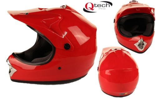 Childrens-Kids-MOTOCROSS-Crash-HELMET-Gloss-RED-XS   £24.95  01270 841877