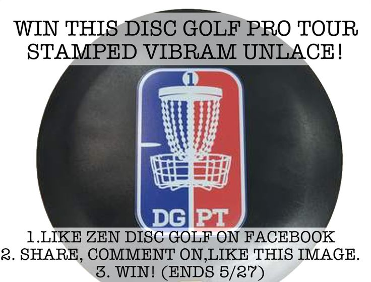 How would you like to get your hands on a Disc Golf Pro Tour stamped unLace from Vibram Disc Golf? Zen Disc Golf is giving one away this week!To enter, follow Zen Disc Golf on Facebook. Then like,…