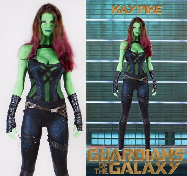 COSPLAY: Kay Pike As 'Gamora' From GUARDIANS OF THE GALAXY