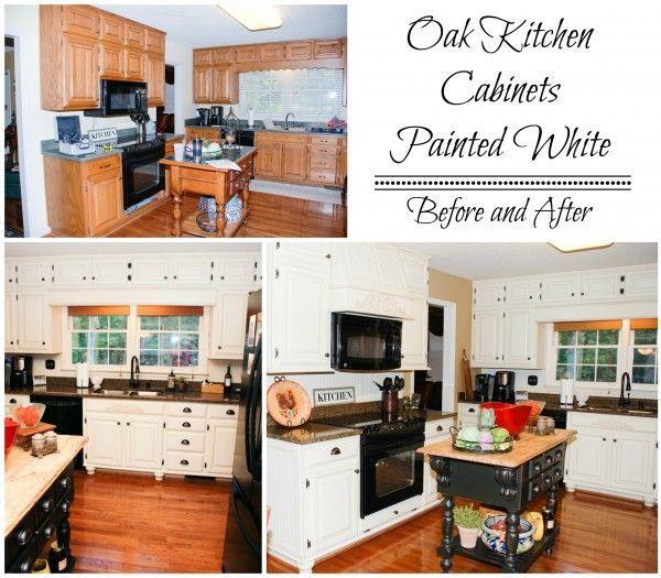 Diy White Kitchen Cabinets: 2987 Best Remodelaholic Favorites Images On Pinterest