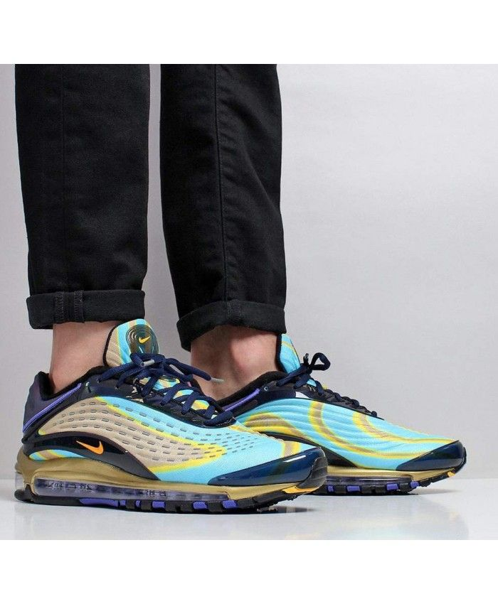 a2faa98d0a1 Nike Air Max Deluxe Midnight Navy Laser Orange | nike black friday ...