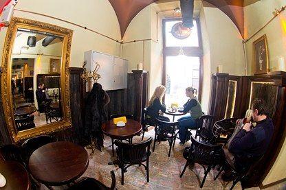 The Coffee Manufacture (Coffee Mine Cafe) - Lviv, Ukraine