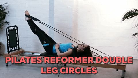 Pilates Reformer Double Leg Circles Exercise