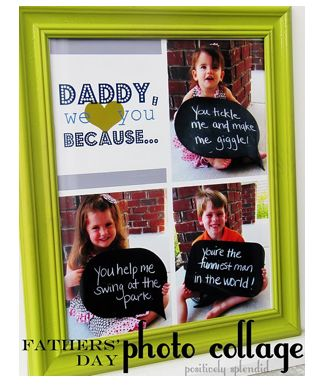 Fathers Day gift idea. Cute for dad or grandpa. Could change it
