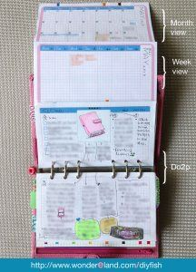 Love My Finsbury and Set Her Up Horizontally ... Interesting set up using a Filofax horizontally - I don't think it would work for me but definitely interesting (Read 06/24/2013 - ThT (•~•))