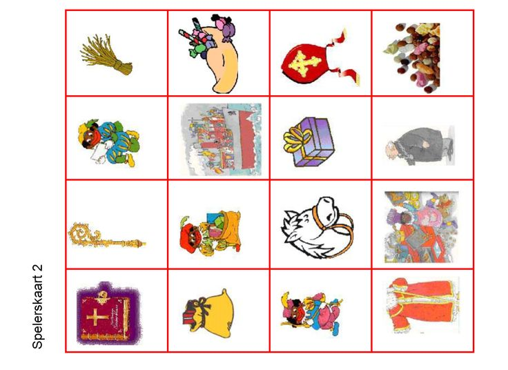 Bingo - spelerskaart2