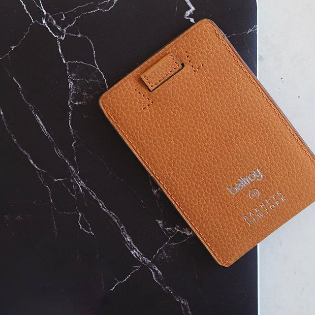 @bellroy xo @barneysny Card Sleeve. #design #style