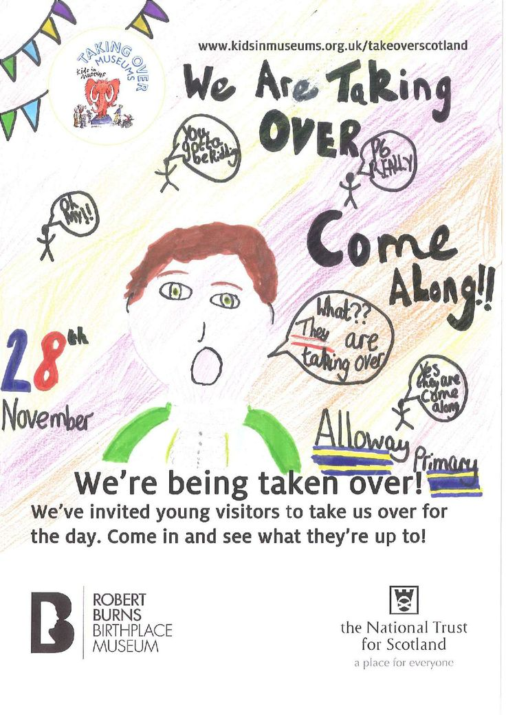 Primary 6 Takeover Day poster