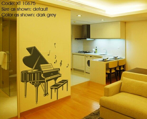 Piano decal