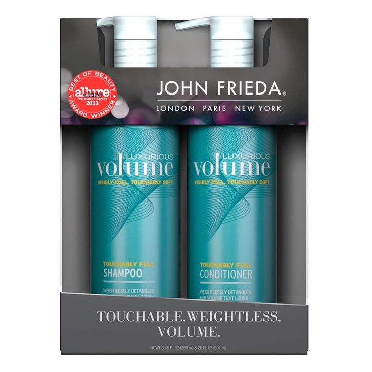 John Frieda Luxurious Volume Shampoo & Conditioner