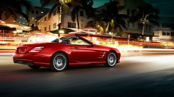 Mercedes-Benz SL-Class. When you're always out in front, it's important to look good from the rear, too.