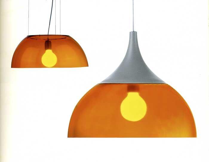 #Sospensione #lampada #lampadario ##cappellone #arancio #arancione #lights #lighting #light #instalight #lamp