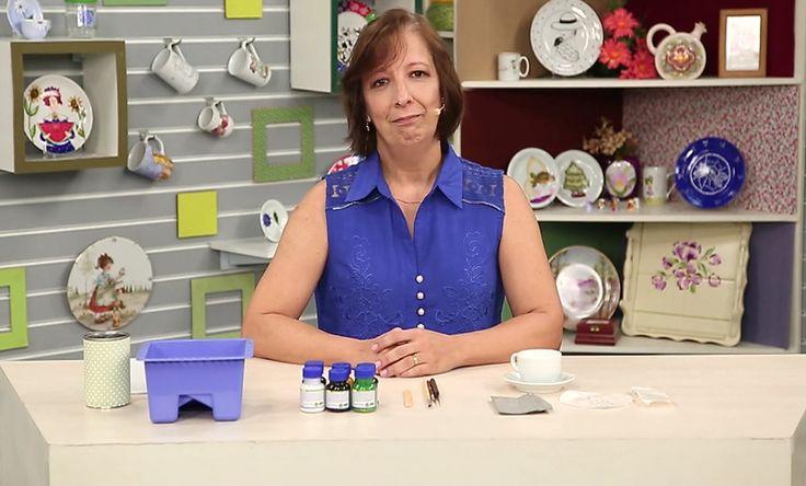 Lista de aulas da técnica Pintura em Porcelana | Canal do Artesanato
