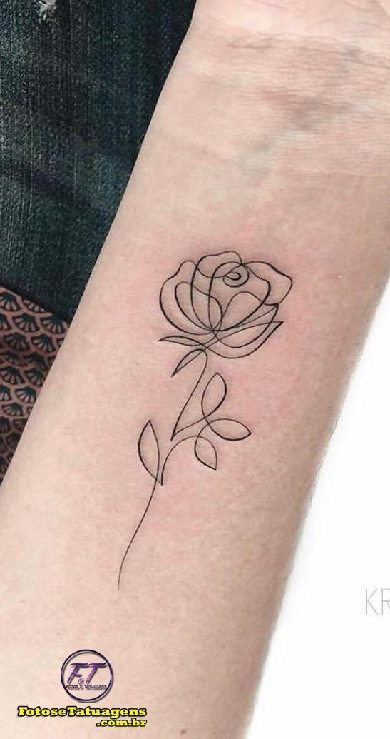 40 Rose Frauen Tattoos für Inspiration Fotos und…