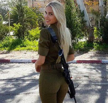 awesome An Instagram Page Dedicated to Hot Israeli Female Soldiers is Taking Off Like Gangbusters!