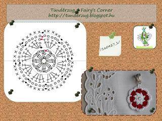 Tündérzug: Horgolt medál - 160427_1 (Crochet Pendent)