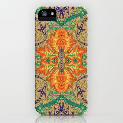 Orange Bloom iPhone & iPod Case by Geetika Gulia - $35.00