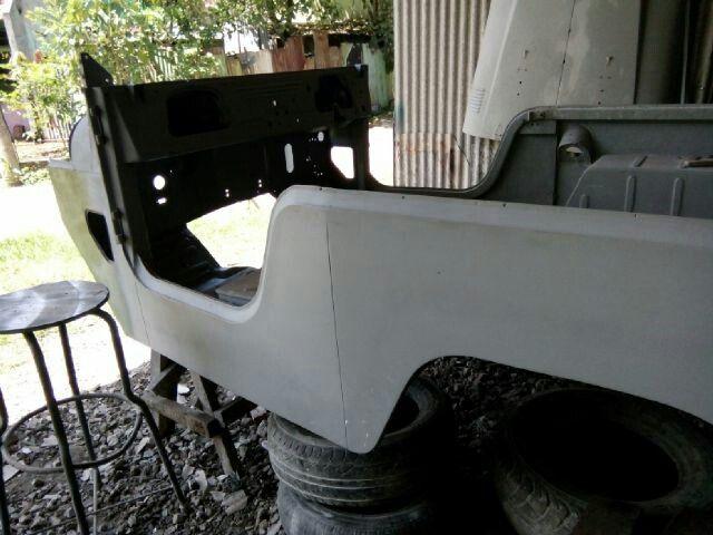 Restoration Body tub 1961