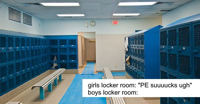 32 Boys Locker Room Memes That Are The Absolute Worst Locker