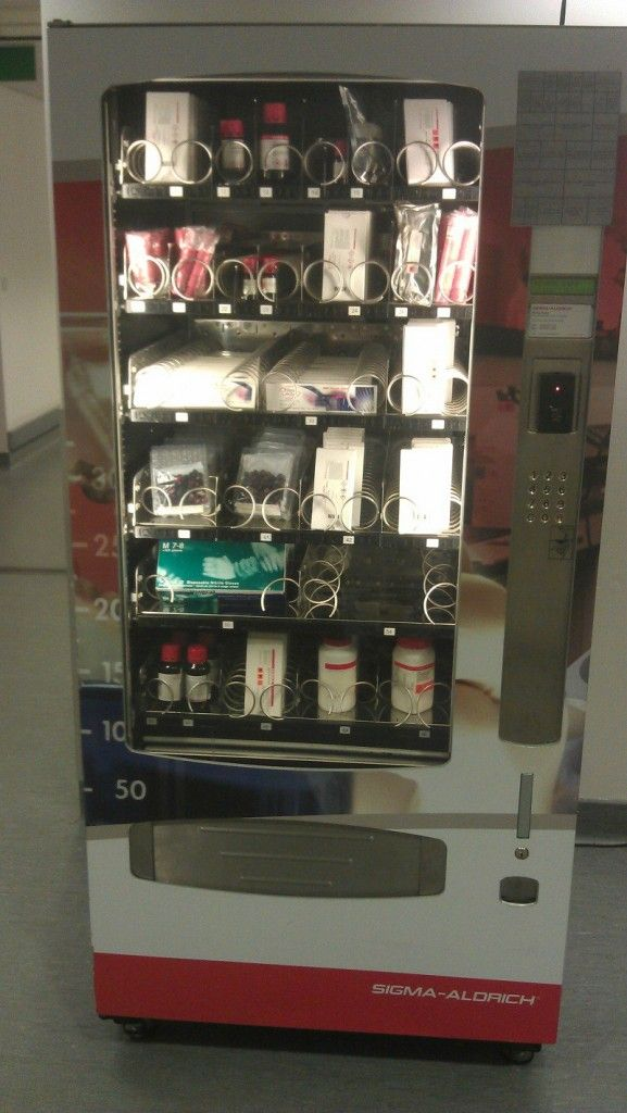 Sigma Aldrich Vending Machines Laboratory Supplies
