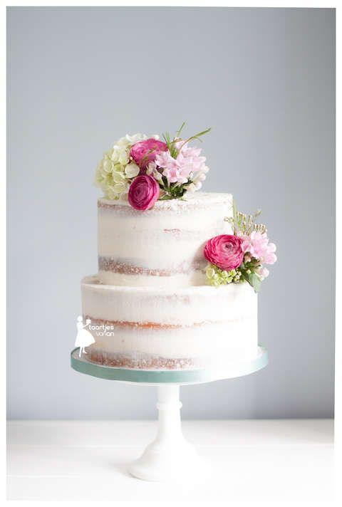 Taartjes van An taart nunspeet bruidstaart nunspeet bruidstaart    Wedding  Cake Fresh FlowersCake  46 best wedding cake images on Pinterest   Marriage  Cakes and  . Fresh Flower Wedding Cakes. Home Design Ideas
