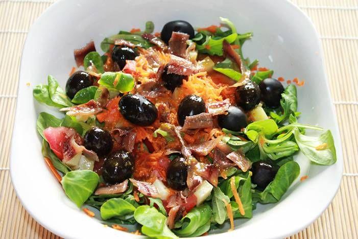 Испанский витаминный салат