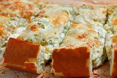 Artichoke Dip Bread - i love artichoke dip!! this looks fantastic!!