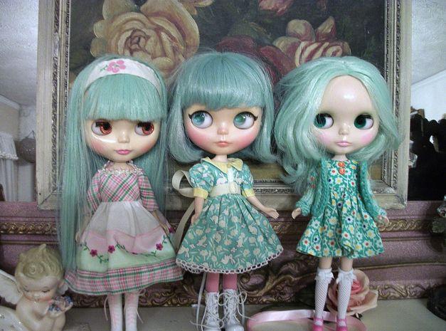 mint Blythe dolls