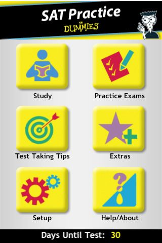 8 best sat act test prep images on pinterest sats homeschool the sat vocabulary practice for dummies app focuses on the vocabulary you need to know to get a good verbal score on the sat exam fandeluxe Gallery
