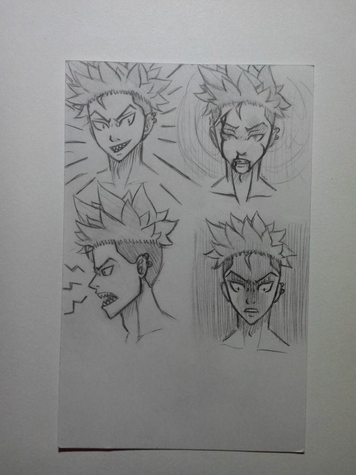 Oltre 25 fantastiche idee su visage dessin su pinterest - Dessin manga visage ...