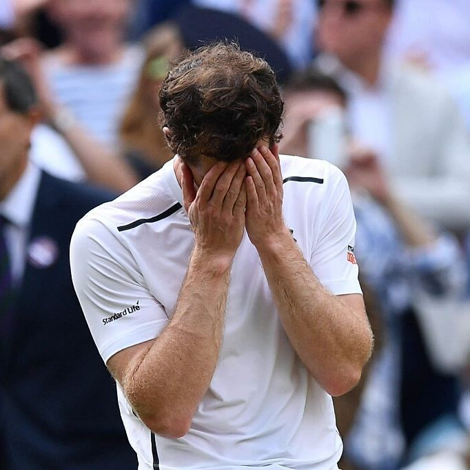 THAT'S HEART!  This is how it feels to be a WIMBLEDON CHAMPION! (Again). We all cried with you @andymurray @andy_murray  Photo/Foto: Unknown/Desconocido  #andymurray #andy #murray #wimbledon #champion #grandslamwinner #grandslamchamp #tennis #tenis #atp #wta #idol #respect #proud. #tennisplayer #underarmour #head #uk #britishtennis #scotland  #happiness