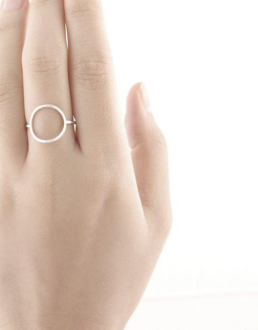 7,50€ - SILVER CIRCLE RING | SRTALAURIS, jewelry&design