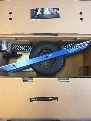 Price - $1,300.00.ㅤㅤㅤ                Brand New - OneWheel Electric Motorized Skateboard ( Color - Blue w/ Ultra Charger, Brand - Onewheel, Model - OW1-00001-00    )