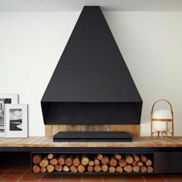 cheminee moderne