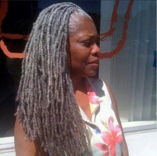 Salt And Pepper Locs Natural Hair Styles Hair Styles
