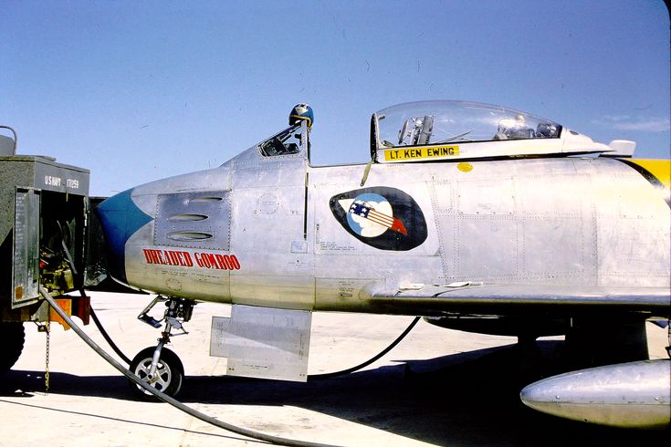 FU-539 F-86F sabre jet. 336th Fabulous Rocketeers.