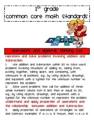 Common Core: 1St Grade Math,  Internet Site, Common Cores Standards, Grade Common,  Website, Common Cores Math, 1St Grades, Math Common, First Grade Math