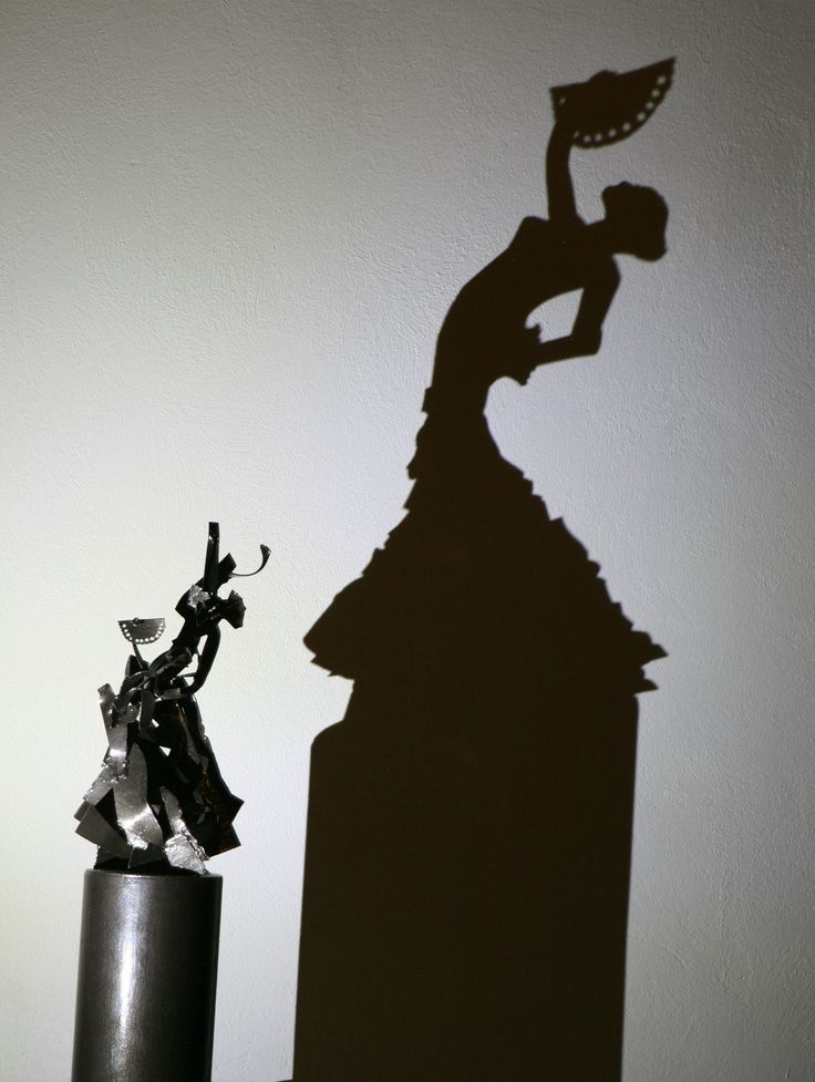 flamenco dancer - shadow art