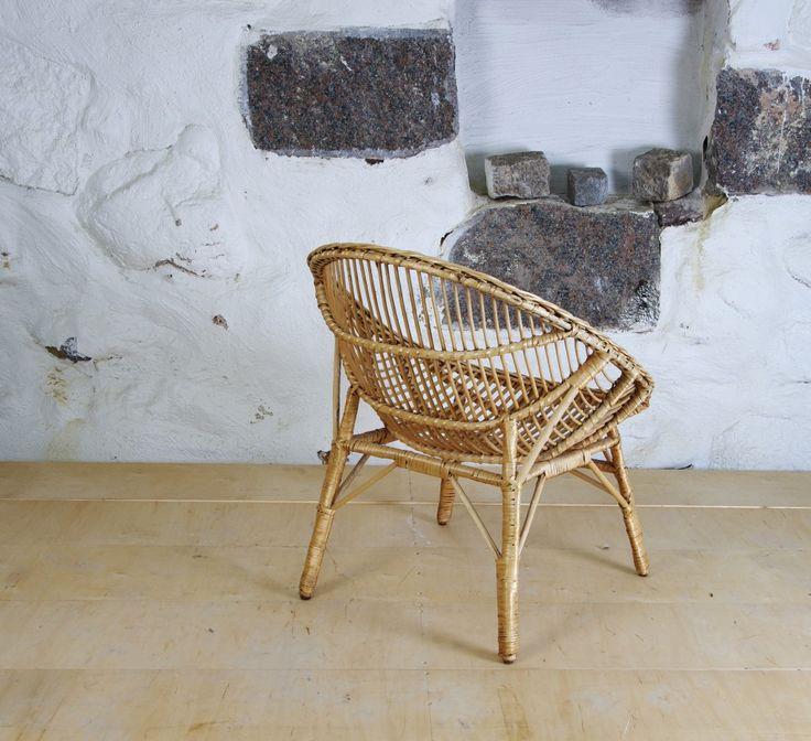 Rottingstol, 1900-talets mitt - Folks Interiör