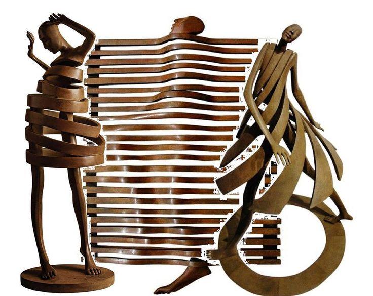 isabel miramontes sculpteur - The bronze sculptures ~ collagedparBILLYLEE