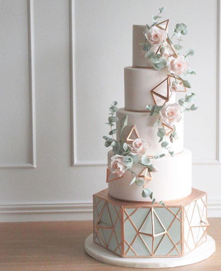 Modern Wedding Cakes: Best 25+ Geometric Cake Ideas On Pinterest