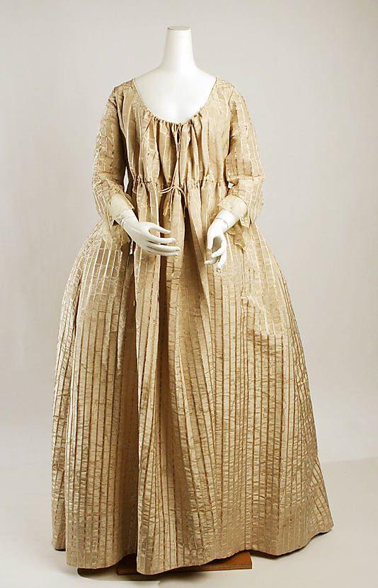 Dress, last quarter 18th Century.