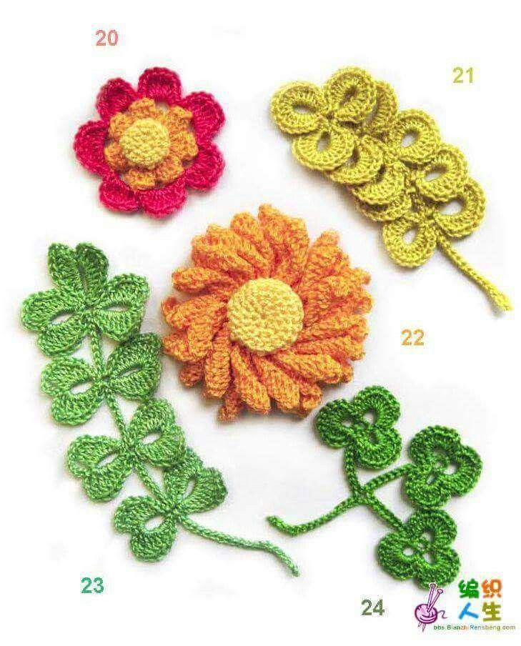 729 besten flores flamenca y más a crochet Bilder auf Pinterest ...