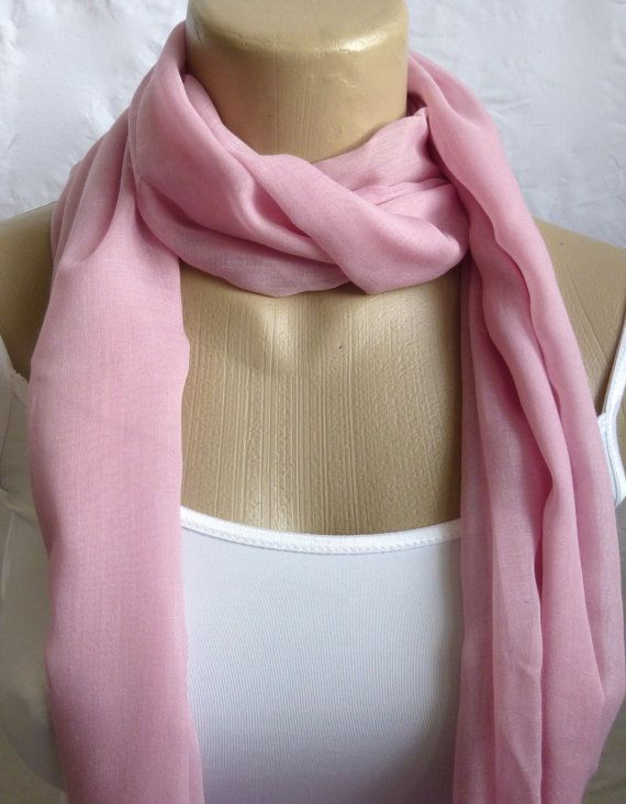 Infinity Scarf Dusty Pink Super Soft 3 Loop by ShawlsandtheCity, $17.00