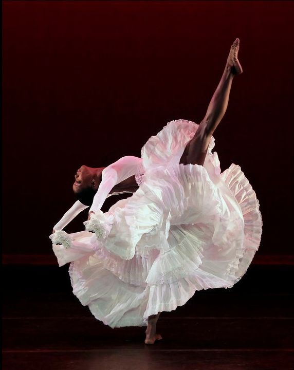 alvin ailey her dress looks like a lily