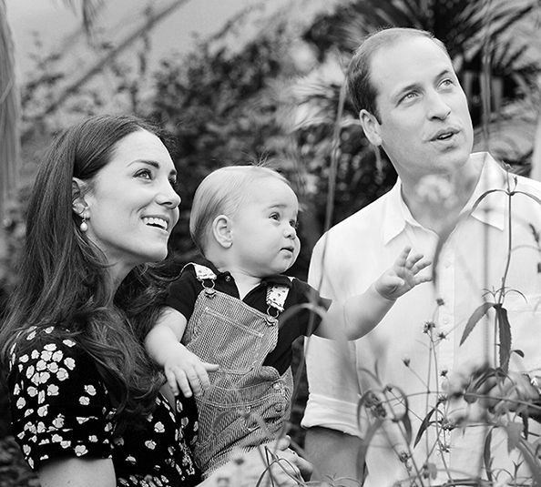Family Vacation! Prince William, Kate Middleton, and Prince George Head to the Carribbean  #InStyle