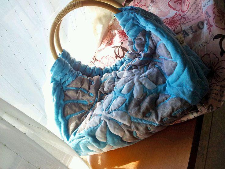 Bag of Monstera and Tiare