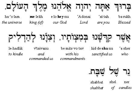 Shabbat Prayer