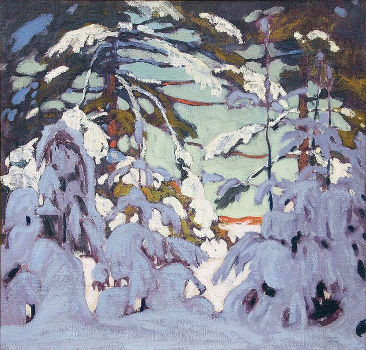 Lawren S. Harris, Snow on Trees c.1915